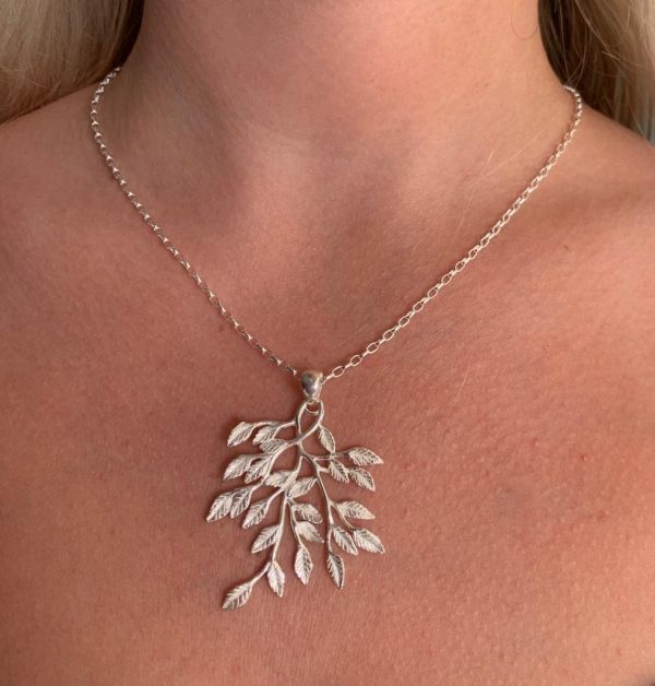 Uara Silver Necklace, Sterling Silver